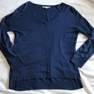 soft v-neck pullover sweater